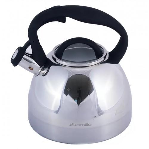 Чайник 2.7 л  со свистком  Kamille KM-1089
