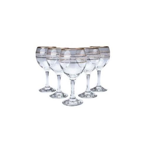 Набор бокалов для белого вина MISKET 165 мл 6 шт Gurallar Art Craft 31-146-088
