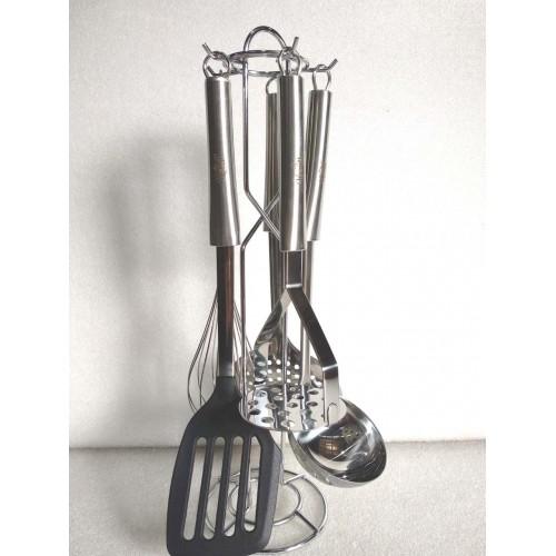 Набор кухонных принадлежностей на подставке Krauff 6 предметов (29-301-016)