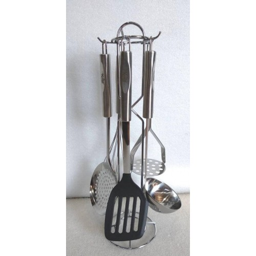 Набор кухонных принадлежностей на подставке Krauff 6 предметов (29-301-015)