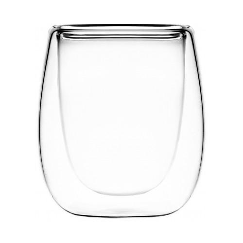 Набор чашек Ardesto для эспрессо с двойными стенками 80 мл 2 шт AR2608G