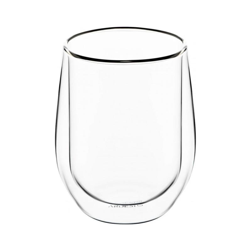 Набор стаканов с двойными стенками для латте 2 шт 250 мл Ardesto AR2625G