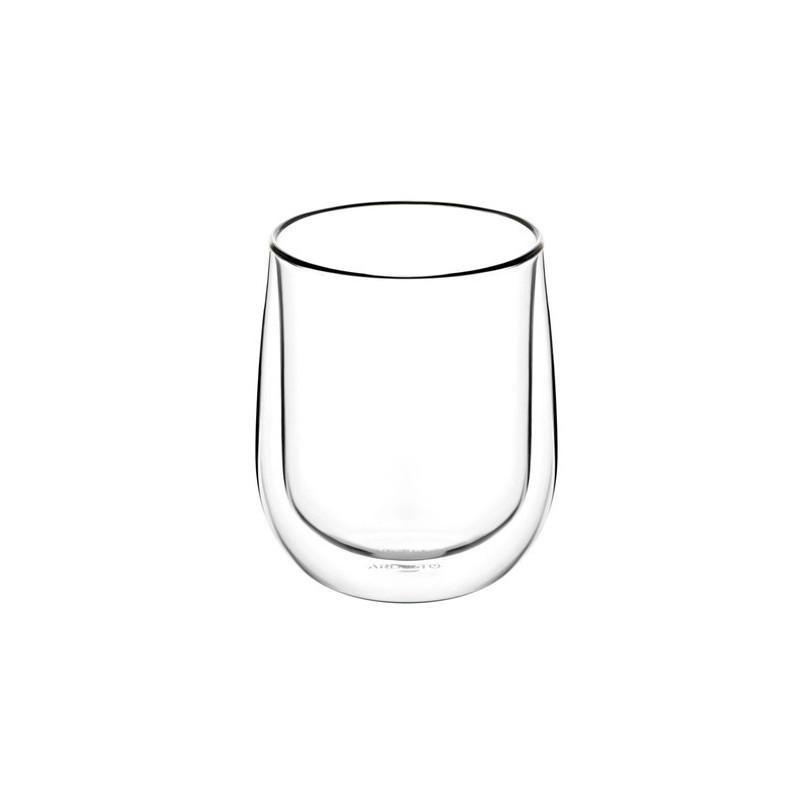 Набор стаканов с двойными стенками для латте 2 шт 360 мл Ardesto AR2636G