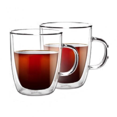 Набор чашек с двойными стенками для латте 2 шт. 270 мл Ardesto AR2627G