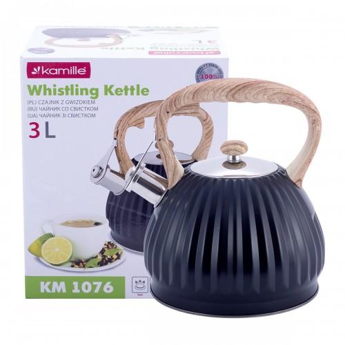 Чайник Kamille 3л из нержавеющей стали KM-1076