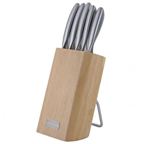 Набор ножей Kamille 6 предметов из нержавеющей стали KM-5133