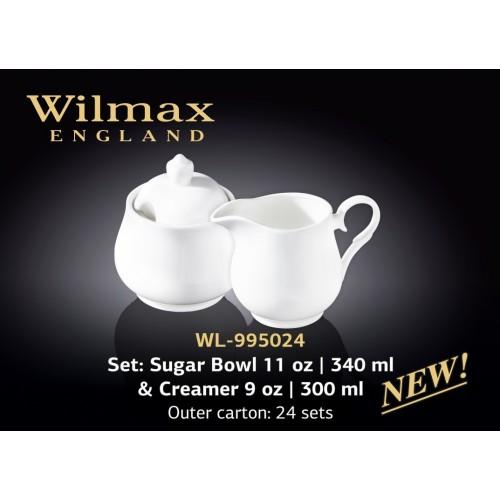 Набор из сахарницы и молочника Wilmax WL-995024/2C