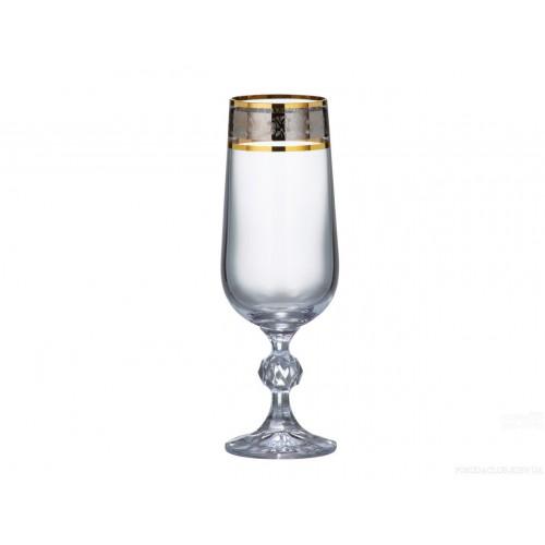 Набор бокалов\шампанское Bohemia Claudia180 мл.-6 шт.159148