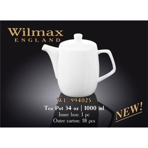 Чайник заварочный Wilmax Color 1000 мл WL-994025