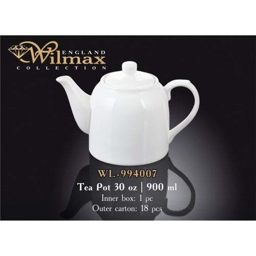 Чайник заварочный Wilmax 900 мл WL-994007