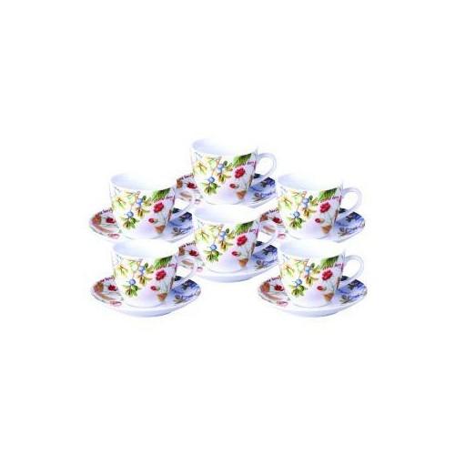 Набор чайный Лесные ягоды 12 предметов KERAMIA OUK24-198-045