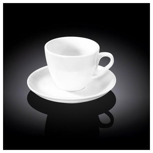 Чашка чайная&блюдце Wilmax 300 мл WL-993176