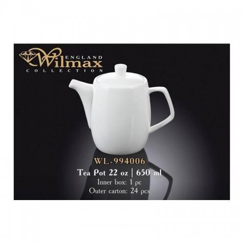Заварочный чайник Wilmax (650 мл) WL-994006