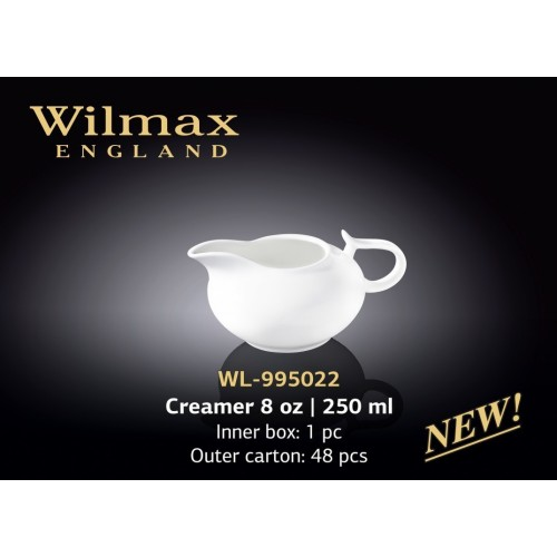 Молочник фарфоровый Wilmax 250 мл Color WL-995022