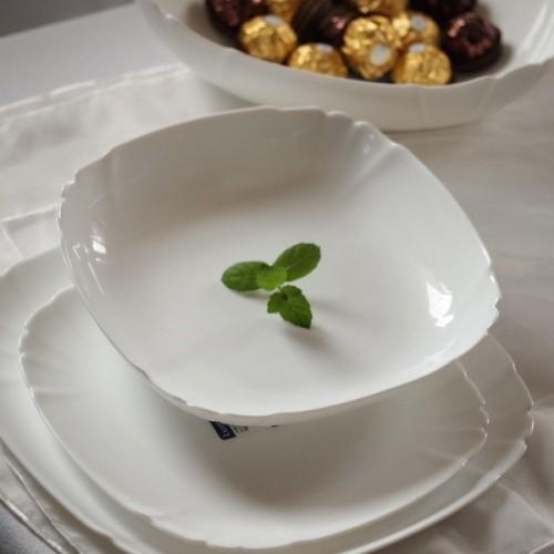 Сервиз столовый LUMINARC LOTUSIA WHITE, 18 предметов H3527