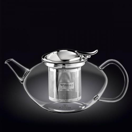 Заварочный чайник с металлическим ф-м Wilmax Thermo 1550мл WL-888806