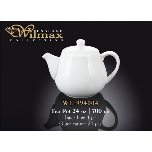 Чайник заварочный 700мл. Wilmax Color WL-994004