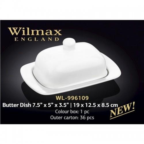 Wilmax.Маслянка 19х12,5х8,5см.Color WL-996109