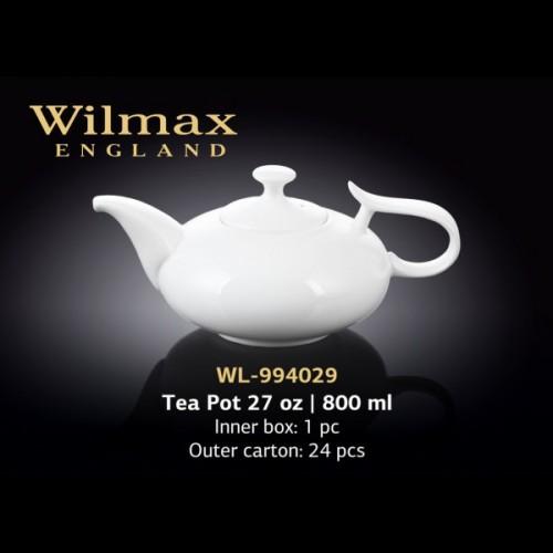 Заварочный чайник 800 мл Wilmax WL-994029