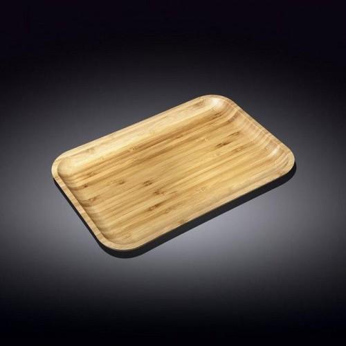 Блюдо бамбуковое Wilmax Bamboo 30,5х20,5 см WL-771054