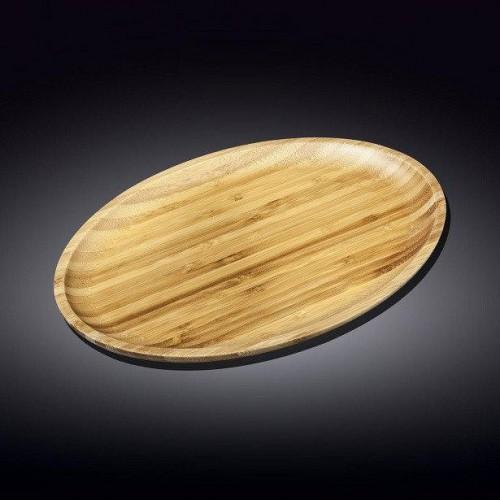 Блюдо бамбуковое Wilmax Bamboo 43х31,5 см WL-771072