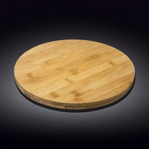 Блюдо бамбуковое поворотное Wilmax Bamboo 33 x 4 см WL-771080