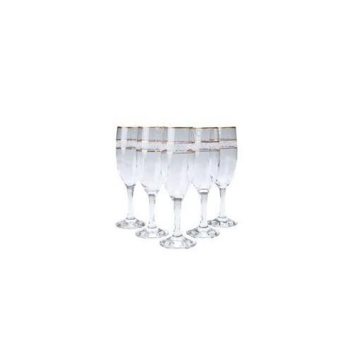 Набор бокалов для шампанского MISKET 190 мл 6 шт Gurallar Art Craft AC31-146-083