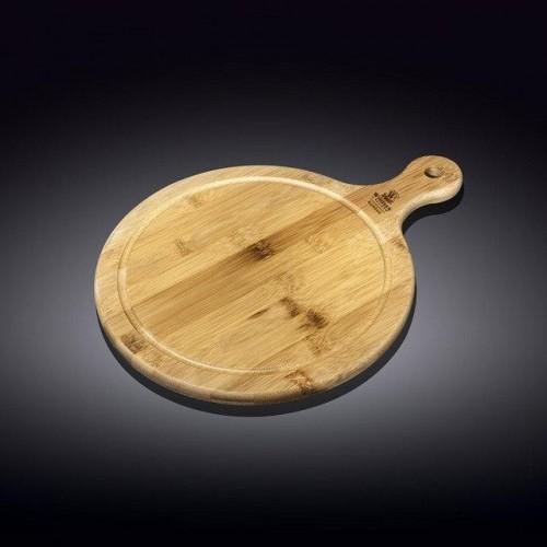 Блюдо бамбуковое с ручкой Wilmax Bamboo 46х35,5 см WL-771103