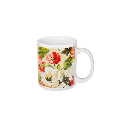 Чашка Цветы 330 мл OSELYA UKRAINE OC21-206-083