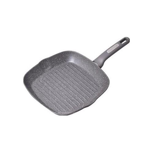 Сковорода-гриль Kamille 28*28*4см с гранитным покрытием  4278 GR